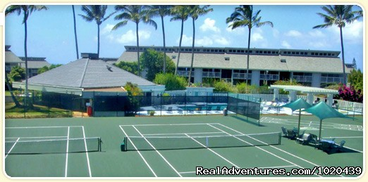 Tennis Courts and Recreation Area | Image #20/26 | Cliff's Honeymoon Condo Princeville, Kauai, Hawaii