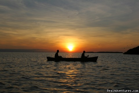 sunset on florida bay - See the Everglades with a Guide