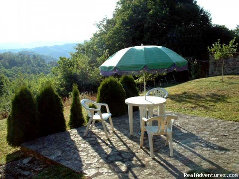 View from the terrace - A Dordogne Valley House to Rent in France