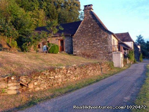 Cantou north side - A Dordogne Valley House to Rent in France