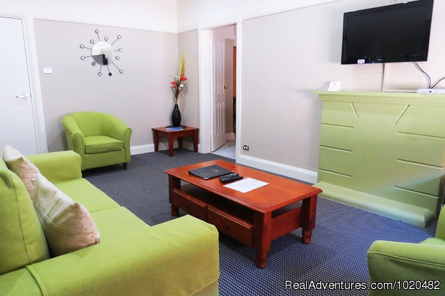 2 Bedroom Living Spaces - Drummoyne Serviced Apartments Sydney