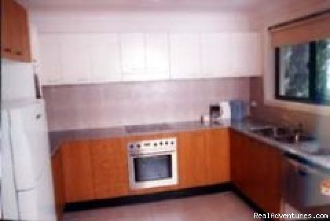 Fully equipped kitchen - Hornsby Serviced Apartments, Sydney