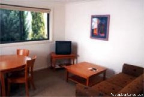 Lounge & dining areas - Hornsby Serviced Apartments, Sydney
