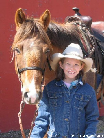 Horses suitable for all ages - Discover the Rich Ranch Outfitting and Guest Ranch