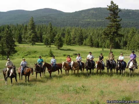 A Day on the Trail - Discover the Rich Ranch Outfitting and Guest Ranch
