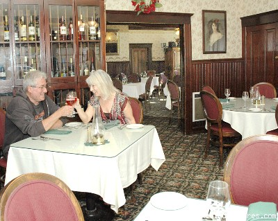 Dine in our Elegant Victorian Restaurant - 1859 Historic National Hotel Acclaimed Restaurant