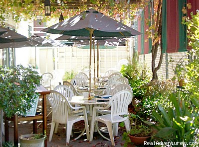 Or enjoy warm weather courtyard dining - 1859 Historic National Hotel Acclaimed Restaurant
