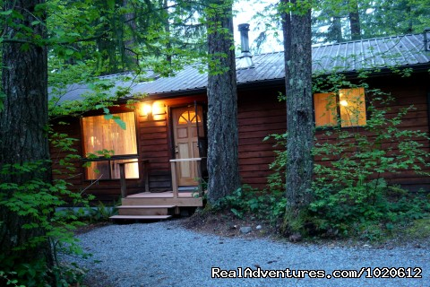 Big Creek - Summer - Jasmer's Mt. Rainier Cabins & Fireplace Rooms