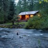 Jasmer's Mt. Rainier Cabins & Fireplace Rooms Creekside Cabin