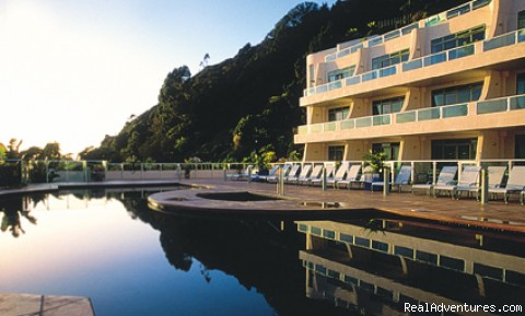 View of Resort - Paihia Beach Resort, New Zealand