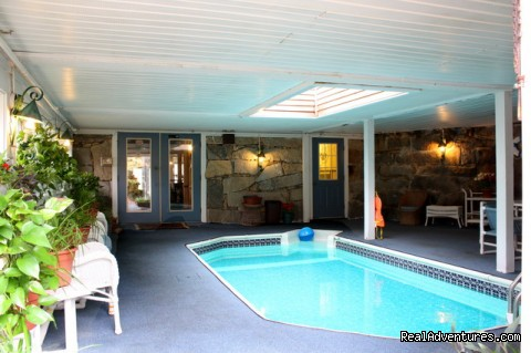 Indoor Heated Pool - Colonial House Inn & Restaurant