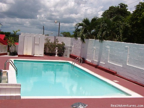 Sorry, pool is temporarily out of order. - Relax in Trinidad and Tobago at Hosanna Hotel