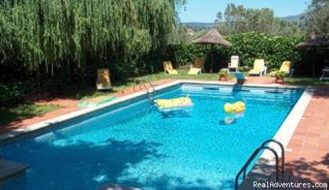 Villa Quinta de Nabais, pool - The Manor Houses of Portugal