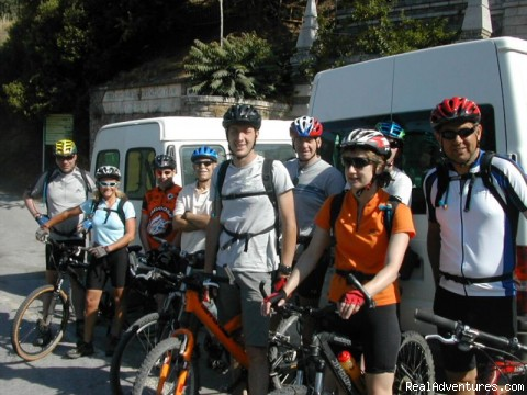 Transport to the start - Sierra Cycling Mountain Bike Holidays Spain