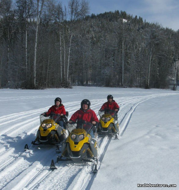 Snowmobile Tours | Image #5/9 | Mountain Springs Lodge, Lodging and Activities