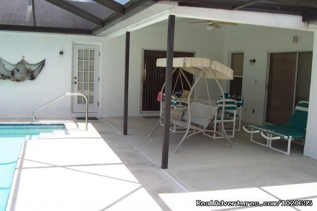 Lanai (#8 of 12) - Florida Gulf Coast Villa with private pool Hudson