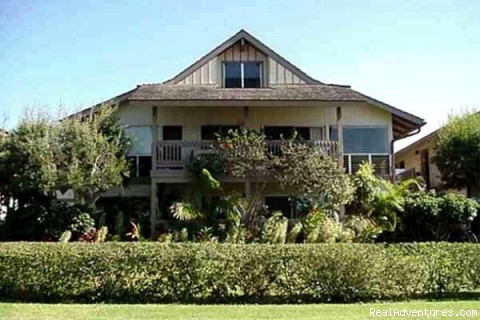 Affordable Tropical Escape for Two, Kauai, Hawaii: Front of condo