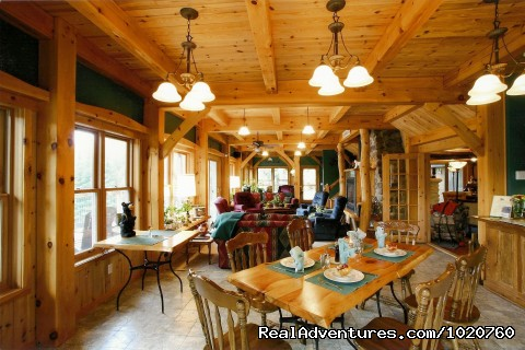 The Sunroom and Breakfast Nook (#3 of 26) - Sunny Rock Bed & Breakfast Haliburton Highlands ON