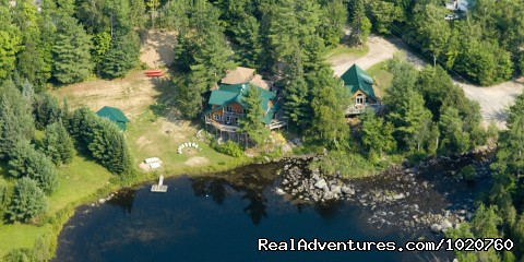 Sunny Rock Bed and Brewakfast, Arieal View - Sunny Rock Bed & Breakfast Haliburton Highlands ON