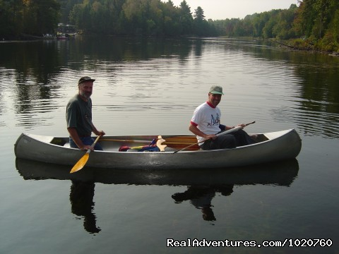 Ask us About our Cushy Canoe Trips, - Sunny Rock Bed & Breakfast Haliburton Highlands ON