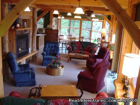 Sunny Rock Bed and Breakfast, Sunroom - Sunny Rock Bed & Breakfast Haliburton Highlands ON