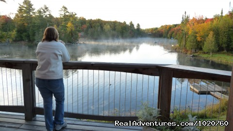 Decks Galore to enjoy alll day long - Sunny Rock Bed & Breakfast Haliburton Highlands ON