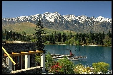 View from every room at Lodge - Luxurious central Queenstown Lodge