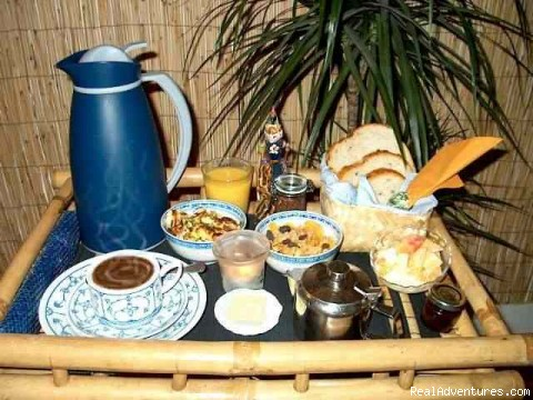 Our World Famous Breakfasts - Barangay, Award-Winning Tropical B&B in Amsterdam