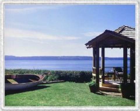 gazebo - Camano Island Inn
