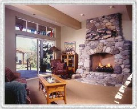 living room - Camano Island Inn