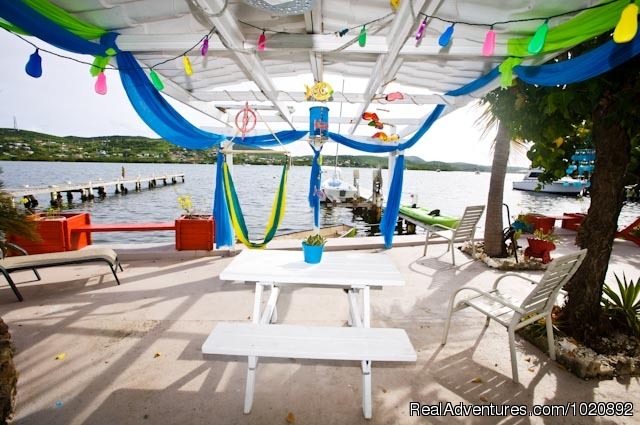 Picnic Table (#4 of 23) - Casa Ensenada Waterfront  Guesthouse, Culebra, PR