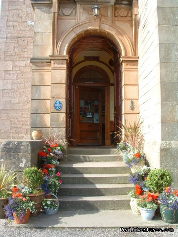 Front door - Craigard House Hotel - your home from home