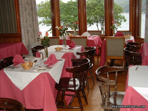 Lochside Restaurant - Craigard House Hotel - your home from home