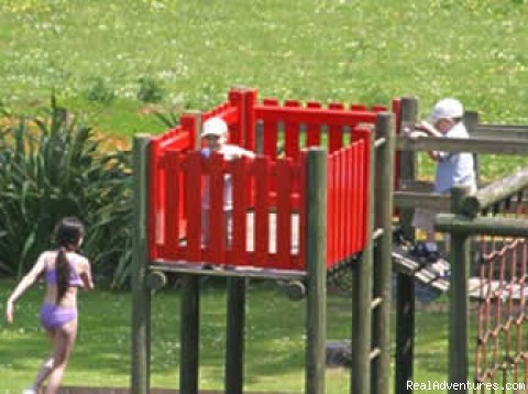 Childrens Play Area - Langstone Cliff Hotel, Dawlish Warren, Dawlish