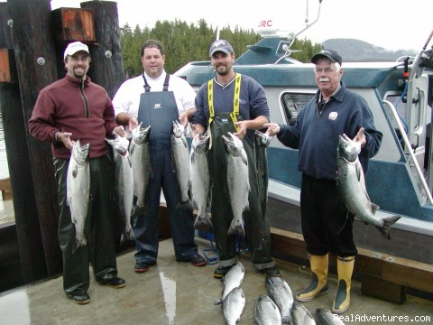 Only 3hrs of fishing! - Shearwater Fishing Lodge & Marina