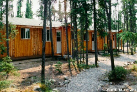 Two-bedroom Cabins 5, 6, 7