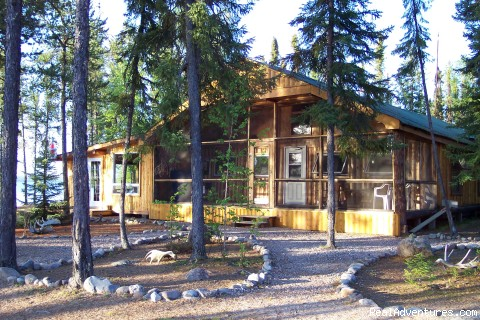 Main lodge - Minor Bay Lodge & Outposts, Wollaston Lake, Saskat