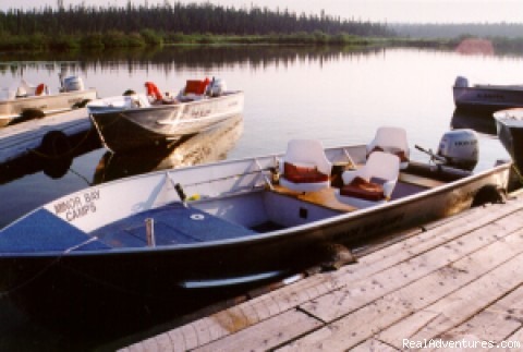 20-foot Custom Boats - Minor Bay Lodge & Outposts, Wollaston Lake, Saskat