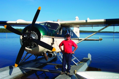 DeHavilland Beaver Floatplane - Minor Bay Lodge & Outposts, Wollaston Lake, Saskat