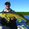Bird Lake Trophy walleye