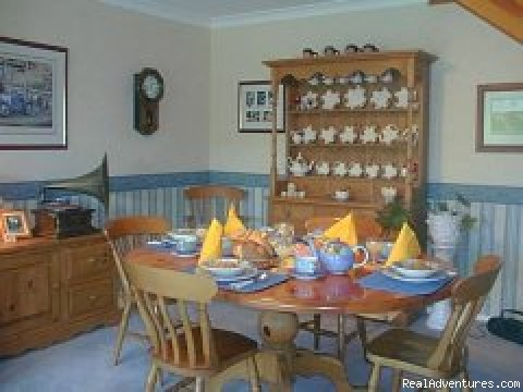 Private breakfast room - Sorrento House Bed & Breakfast