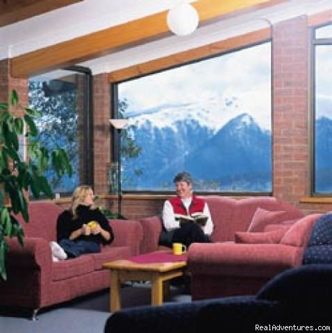 The Lounge area - Ski the Australian Alps