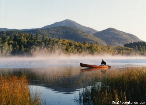 Canoeing on Lake Placid - Placid Bay Inn On Lake Placid Vacation Getaways