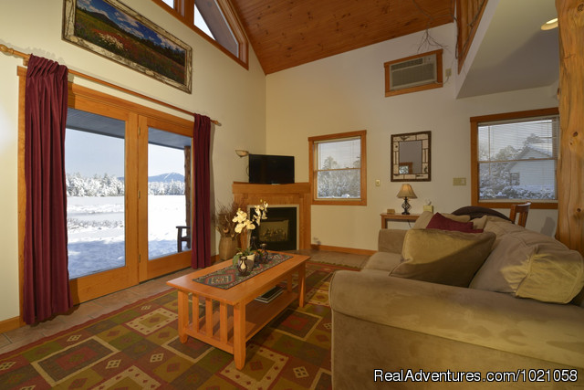 Living room is cottage - Placid Bay Inn On Lake Placid Vacation Getaways
