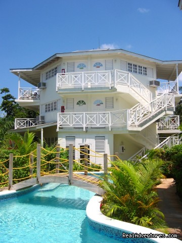 Three storey building - Rondel Village: A romantic beachfront retreat