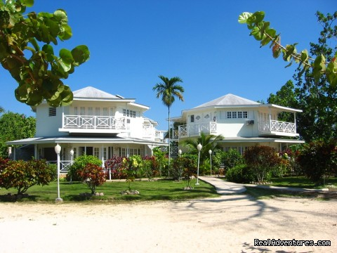 Beachfront Buildings - Rondel Village: A romantic beachfront retreat