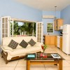 One bedroom beachfront villa living room