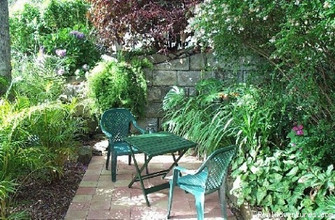 private patio - LillyPilly Cottage