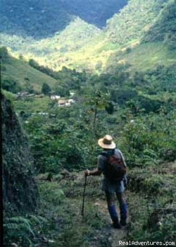 Walking in the Andes - Natoura Travel &  Adventure tours in Venezuela