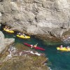 Kayak tours on the sea and the river
